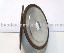 abrasive tools double bevel frame Resin bond CBN grinding wheels