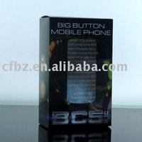 Good quality silk-screen pringting PET iphone packaging box