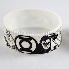 2012 Fashion New design Silicone Bracelet/silicone wristband/rubber bracelet
