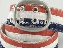 white webbing belt for lady