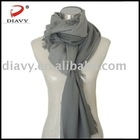 2013the fashion scarf style100%Mercerized wool shawl sequin silver shawl