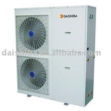 Air to water monobloc heat pump air conditioner