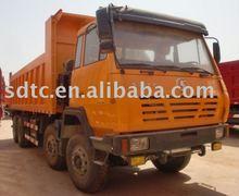 O'Long/steyr 8*4 heavy tipper/dump truck