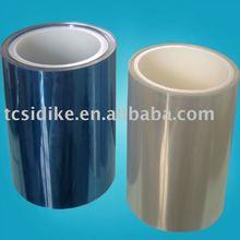 Transparent blue protective film