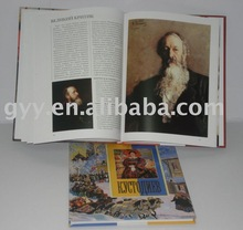 Hardcover binding book printing service 2012