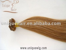 Wholesale tangle free 100% remy virgin human hair Clip in hair extension