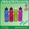 750ml plastic promotional water bottle with BPA free standards