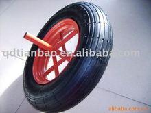 china and cheap small pneumatic trolley wheels