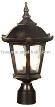IP44 Water Glass Outdoor Lamp Post (DH-1713)