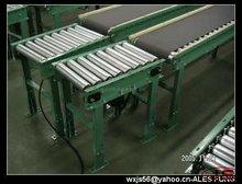 roller conveyor joint with belt conveyor