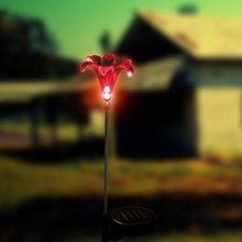 solar flower lights led lamp
