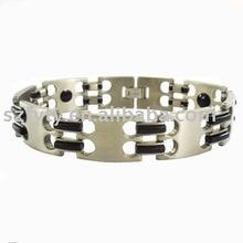 2011 titanium magnetic negative ion sport bracelet health balance