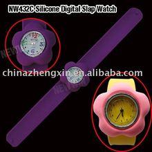 new silicone slap watch