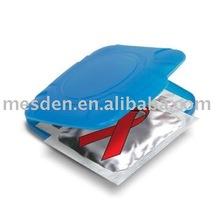 Compact Square Condom Holder