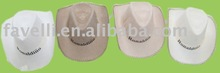 2012 Fashion Knitted Fabric Cow Boy Hats