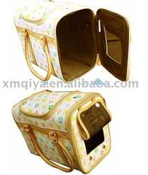 2012 vogue handle bag carrier fashion pet carrier