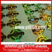 Manifold Anti-counterfeit holographic 3D/2D make hologram sticker