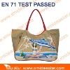 DM639 full printed beach bag