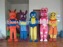 Popular backyardigans cartoon costumes