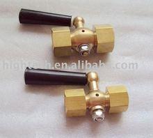 brass gauge cock ,pressure gauge cock