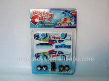 DIY pull back car educational toys good quality