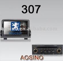 Indash car stereo for PEUGEOT 307 with DVD PLAYER GPS set navigation
