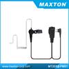 Two way radio air tube earpiece for MOTOROLA GP300,CP040,CP200
