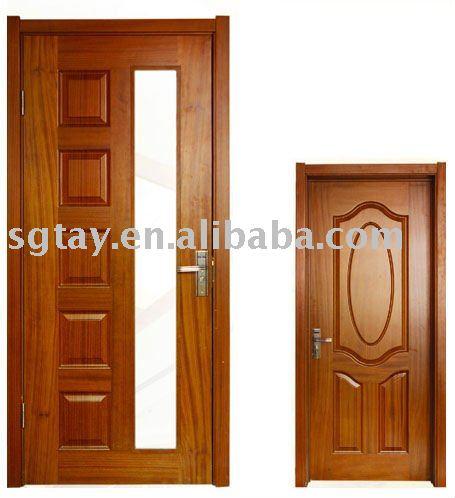 Pintura interior moldeado puertas de madera puerta for Pintura para puerta de madera exterior
