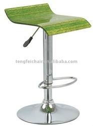 adjustable endurable modern swivel bar stool
