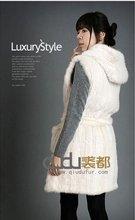 9048B Fashionable Mink Fur Vest