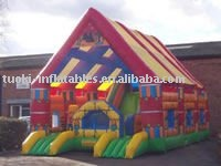 inflatable trampoline castle, inflatable bouncy castle