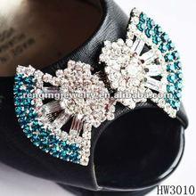 2012 fashion rhinestone lady shoe buckle