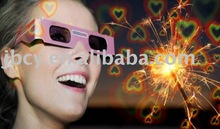 promotional movie paper 3D glasses