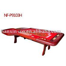 Luxury Roulette wheel poker table