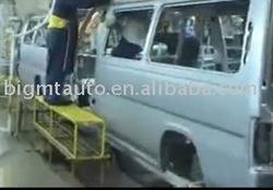 how to assemble 8 seats gasoline mini passenger van