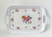 Melamine tray:custom design melamine tray