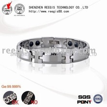 First Quality Titanium Magnetic Bracelet with stainless steel