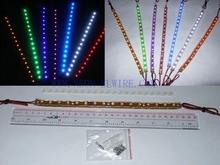 7x12mm transparent pvc led strip light 24/48/72/96/120/144cm optional