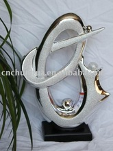 abstract ceramic trophy crafts sculpture Fashion Home Decoration Ceramic