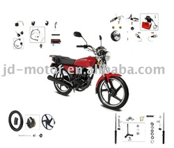 Italika motorcycle FT125 parts