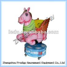 2012 mini funny flying horse kiddie ride