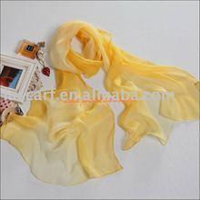 polyester handmade scarf 30D chiffon
