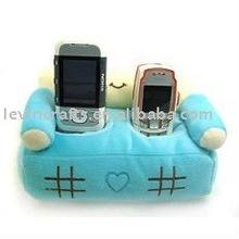 soft plush phone holder