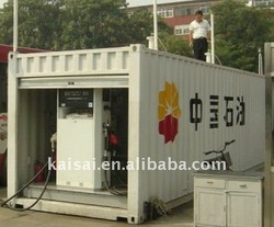 40' Container 2 tanks mobile fuel station