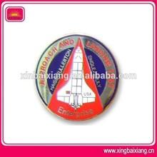 custom metal pilot wings pin badge,aluminium pilot wing badge