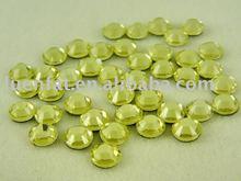hot fix rhinestone crystal AB Flat back /strass rhinestone