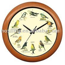12 Singing Birds Clock