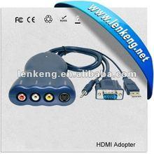 VGA to AV RCA/Svideo converter with Audio