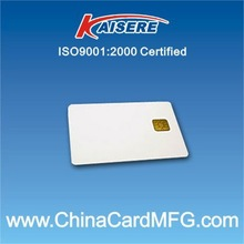 Blank White Contact blank Smart Card