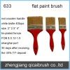 sell decorative flat wall paint brush